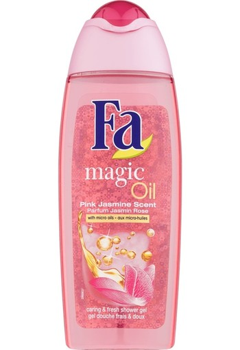 FA Douchegel magic oil pink jasmine (250 ml)