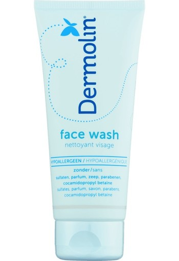 Dermolin Face Wash 100 ML lotion
