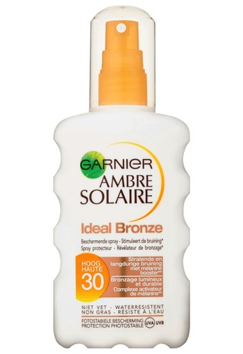 Garnier Ambre Solaire Ideal Bronze Beschermende Spray SPF30-200 ml