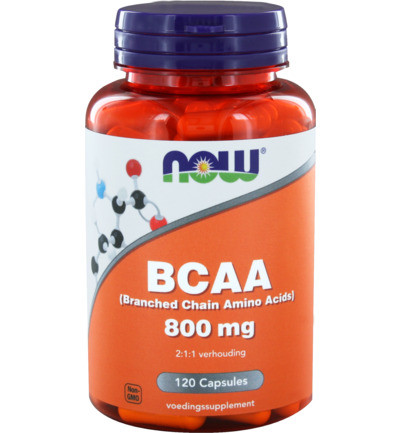Now Bcaa 800 Mg 120ca