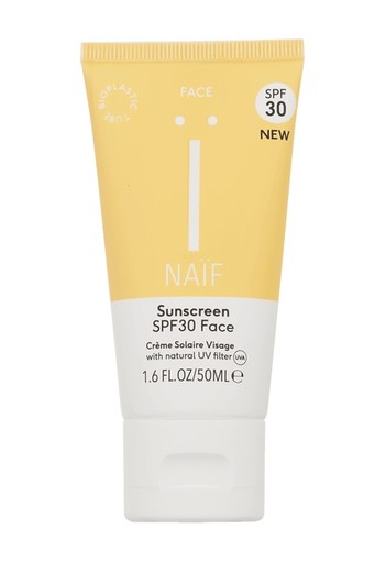 Naif Sunscreen face SPF30 50 ml
