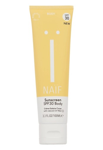 Naif Sunscreen body SPF30 100 ml
