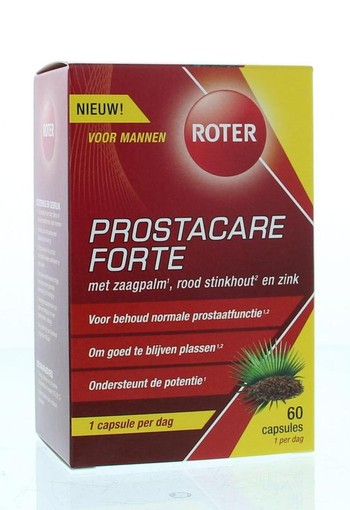 Roter Prostacare forte (60 capsules)