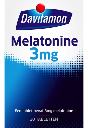 Davitamon Melatonine 3 mg 30 tabletten
