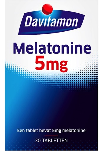 Davitamon Melatonine 5 mg 30 tabletten