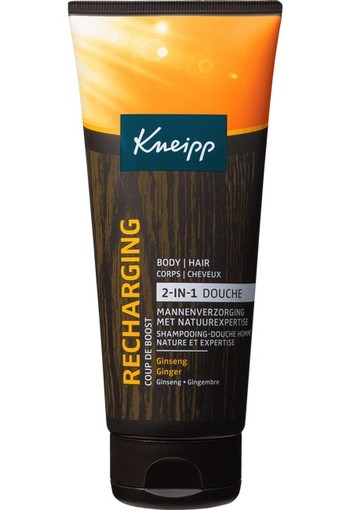 Kneipp Douche Man 2-In-1 Recharging Tube 200 ml