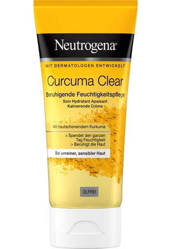 Neutrogena Curcuma Sooth Clear Moist 50 ml
