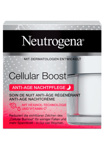 Neutrogena Cellular Boost Anti-age Nachtcrème 40 ml