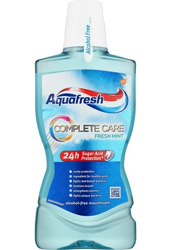 Aquafresh Mondwater complete care 500 ml