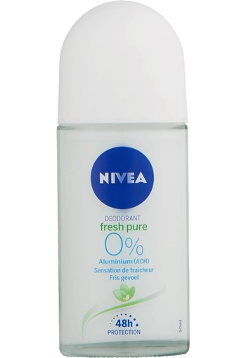 NIVEA Pure & Natural Anti-Transpirant Roll-On 50 ML stick