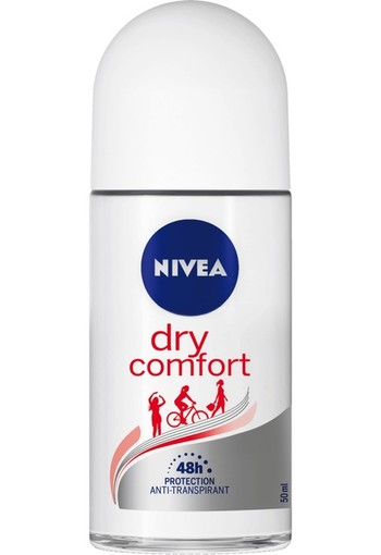 NIVEA Dry Comfort Anti-Transpirant Roll-On 50 ML stick