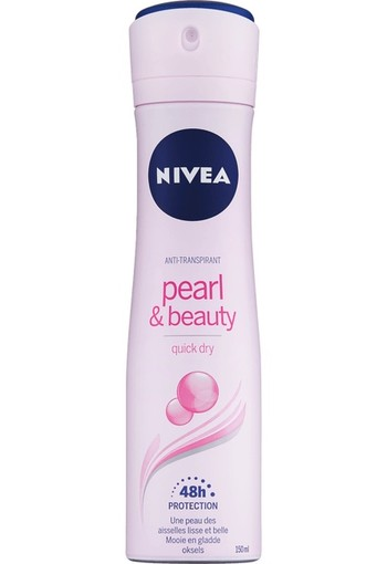 NIVEA Pearl & Beauty Anti-Transpirant Spray 150 ML spray