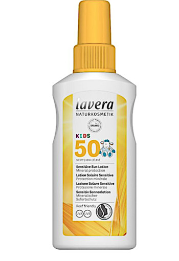 Lavera Zonnebrand/sun spray kids SPF50+ (100 ml)