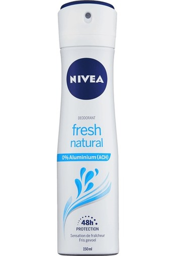 NIVEA Fresh Natural Deodorant Spray 150 ML spray