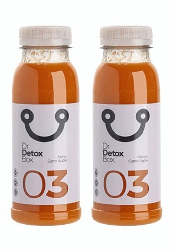 DETOX | Mango Wortel Appel Sap Nº3 - 6-Pack