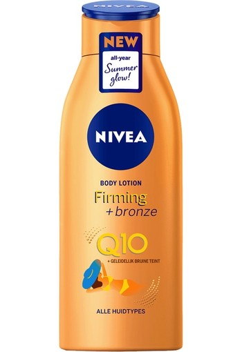 Nivea Q10 Firming + Bronze Effect Body Lotion 400ml