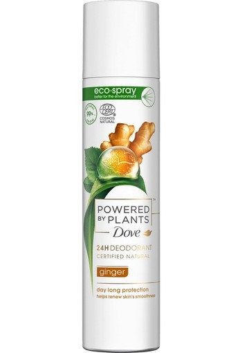 Dove W Deo Ginger Amazonia 75 ml