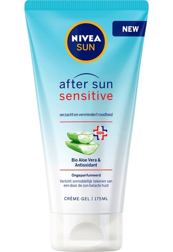 Nivea Sun Aftersun Sensitive Cream Gel - 175 ml