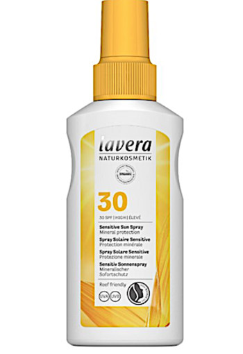 Lavera Zonnebrand/sensitive sun spray SPF30 (100 ml)
