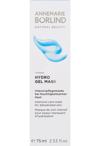 ANNEMARIE BÖRLIND Hydro gel mask 75 ml