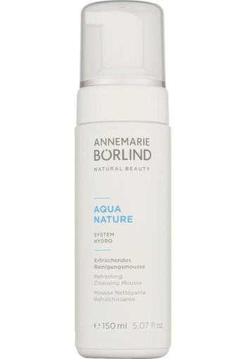 ANNEMARIE BÖRLIND Aquanature verfrissende reinigingsmousse 150ml
