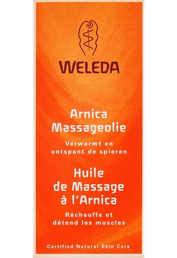 Weleda Arnica sport massageolie 100 ml