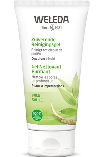 Weleda Naturally clear zuiverende reinigingsgel 100 ml
