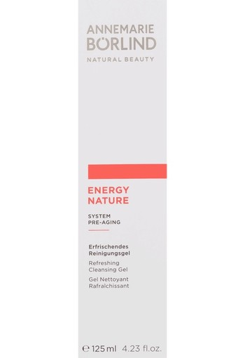 ANNEMARIE BÖRLIND Energynature Reinigingsgel 125ml