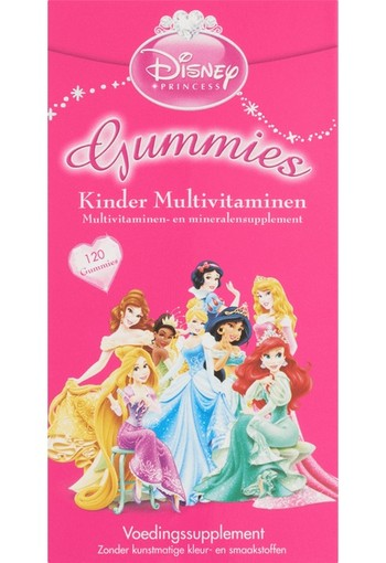 Disney Princess Kinder Multivitaminen Gummies smelttablet 300 GR