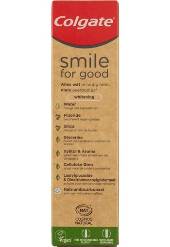 Colgate Tandpasta Smile for Good Whitening 75 ml