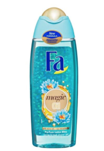 FA Douchecreme magic oil blue lotus (250 ml)