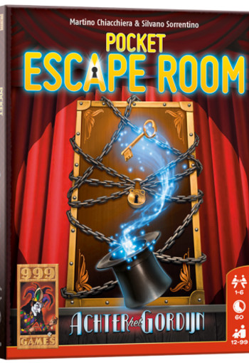 Pocket Escape Room: Achter het Gordijn - Breinbreker