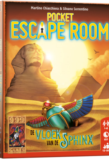 Pocket Escape Room: De Vloek van de Sphinx - Breinbreker