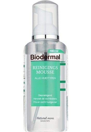 Biodermal Reinigingsmousse 150 ml