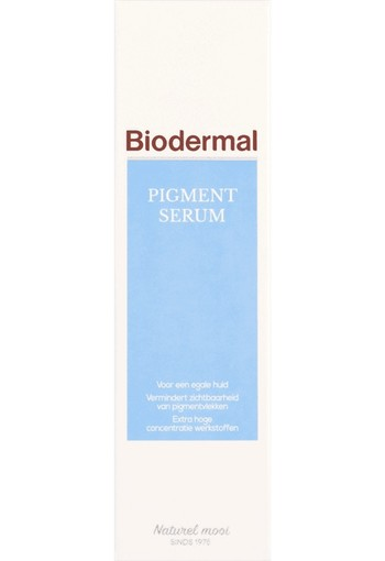Biodermal Pigment Serum 30 ML, creme