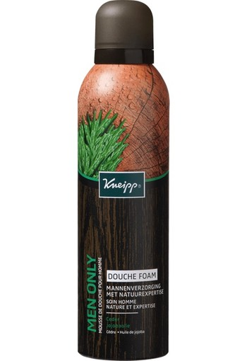 Kneipp Men Only Douche Foam 200 ML, mousse