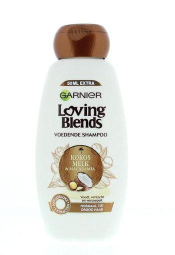 Garnier Loving blends shampoo kokosmelk (300 ml)