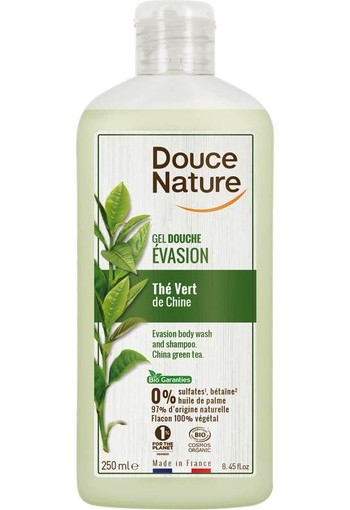 Douce Nature Douchegel & shampoo ontspannend (250 ml)