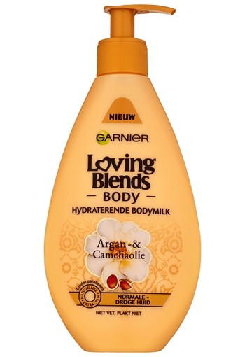 Garnier Loving Blends Argan- & Cameliaolie Hydraterende Bodymilk 250 ML