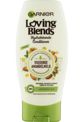 Garnier Loving Blends Amandelmelk & Bio-Agavesiroop Conditioner 200 ML