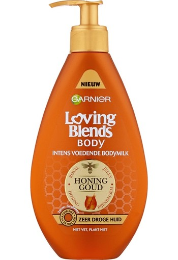 Garnier Loving Blends Honing Goud Voedende Bodymilk 250 ML