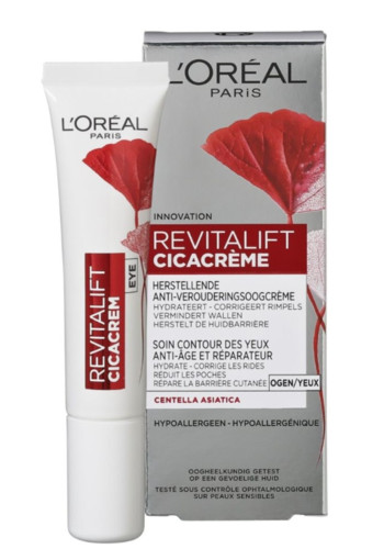 L'Oréal Paris Revitalift Cica 30+ Oogcrème 15 ml