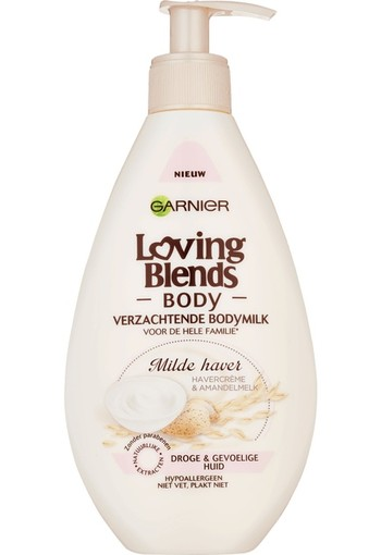 Garnier Loving Blends Milde Haver Verzachtende Bodymilk 250 ml