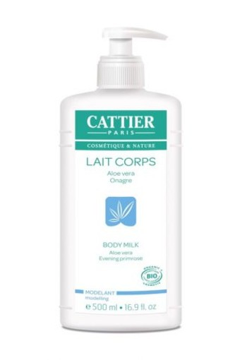 Cattier Body lotion aloe vera / primrose (500 ml)