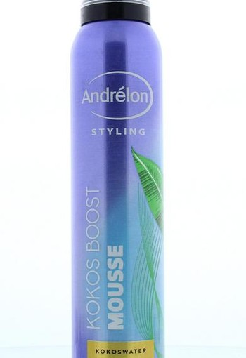 Andrelon Mousse volume kokos boost (200 ml)