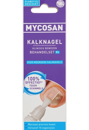 Mycosan Kalknagel Behandelset | Mycosan Kalknagel XL 10 ml