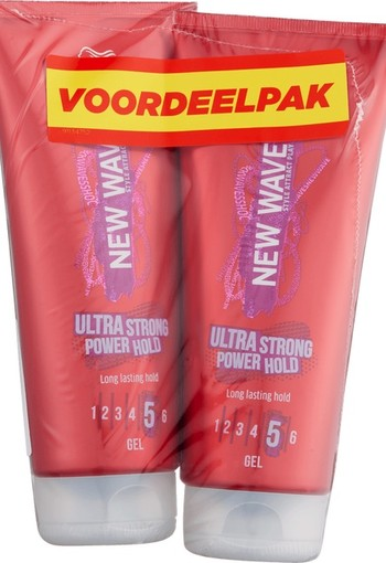 Wella New Wave Ultra Strong Power Hold Gel 400 ml