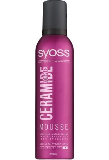 Syoss Ceramide Complex Mousse 250 ml