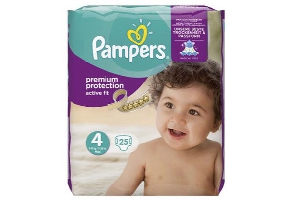 Pampers Active Fit Maxi 4 Midpack 25st