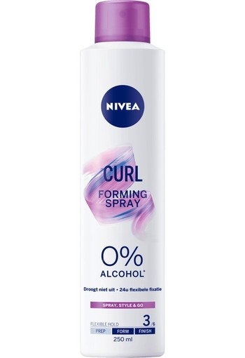 Nivea Curl Stap 3 Finish Forming Spray 250 gram